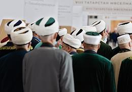 VIII Congress of the Spiritual Administration of Muslims of the Republic of Tatarstan (SAM RT) at the Kazan Expo IEC.