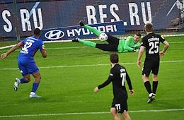 Russian Premier League (RPL). Tinkoff - Russian Football Championship 2020/2021. 25th round. CSKA (Moscow) vs Rotor (Volgograd) at the VEB Arena stadium.