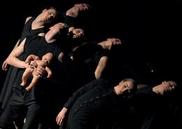 Golden Mask Theatrical festival. The Mirror play by the Voronezh Chamber Theater staged by choreographer Pavel Glukhov at the Vsevolod Meyerhold Theater Center.
