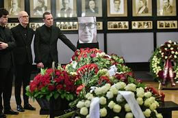 Farewell to Emil Vernik took place at the Chekhov Moscow Art Theater.