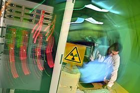 Scientific laboratories in Dubna.