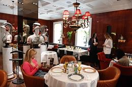 Breakfast devoted to the presentation of the Guide to Happiness book by Instagram blogger Natasha Davydova at the Rossini restaurant.