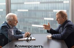 Interview with Anatoly Chubais in the editorial office of Kommerant Publishing House