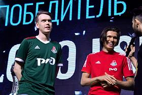 Final of the Championship of the Russian Football Union in Interactive Football at the Yota Arena.