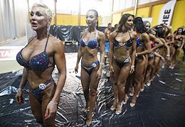 Bodybuilding Championship of the Kaliningrad Region.