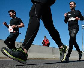 A series of Pushkin run races for 5, 10 and 21 km in St. Petersburg.