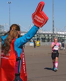Arena Half Marathon in St. Petersburg. The races took place near the Gazprom Arena stadium on Krestovsky Island.