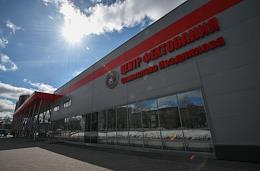 Russian fencing championship at the Siberian regional fencing center of Stanislav Pozdnyakov.