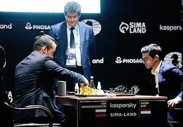 Resumption of the Candidates Tournament in Chess at the Hyatt Hotel in Yekaterinburg.