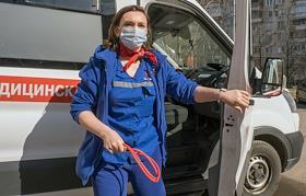 Ambulance station of the Vyborgsky region.