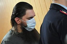 Sentence of former FSB Colonel Kirill Cherkalin, accused of large-scale fraud and receiving an especially large bribe, at the Moscow Garrison Military Court.