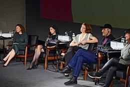 Open talk meeting (open conversation) 'Contemporary cinema. Women's time' in the framework of the official program of the Moscow International Film Festival (MIFF).