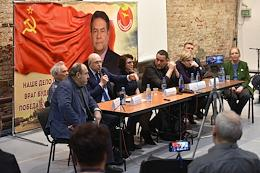 Press conference on the topic 'Trial of the leader of the movement' For new socialism 'Nikolai Platoshkin in the Sakharov Center.