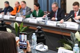 Discussion of the draft resolution of the Government of Russia About approval of the Regulation on the implementation of educational activities in the Public Chamber of Russia.