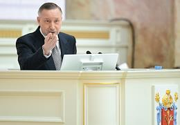 Report of the Governor of St. Petersburg to the Legislative Assembly