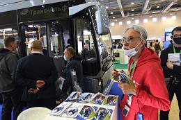 4th Russian bus salon CityBus at the Expocentre on Krasnaya Presnya.