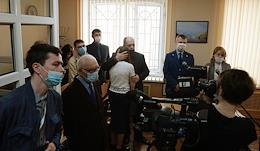Industrial District Court of the city of Perm. The trial of members of the Jehovah's Witnesses religious organization banned in the Russian Federation. Sentencing.