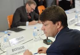 Expanded meeting of the Stolypin Supervisory Board of the Institute for the Economics of Growth on the topic 'Monetary Policy in Russia Today: Availability of Capital, Position in the World Hierarchy of Financial Markets' at the World Trade Center.