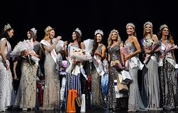 Final of the XXV Anniversary Beauty Contest Miss Moscow 2020/2021 at the Et Cetera Theater.