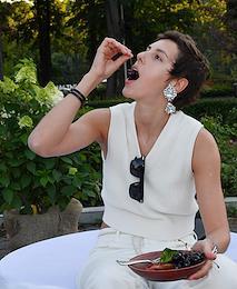 Musical and gastronomic cocktail Vogue Senses in the Luzhniki park.