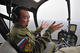 Forest fires in Yakutia.