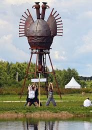 The 16th Archstoyanie international festival of landscape objects in the Nikola-Lenivets art-park. The theme for 2021 is Personal.
