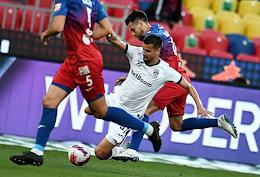 Russian Premier League (RPL). Tinkoff - Russian Football Championship 2021/2022. 1st round. A match between the teams CSKA (Moscow) - Ufa (Ufa) at the VEB Arena stadium.