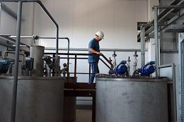 Construction of the first stage of sewage treatment facilities in Saki, worth more than 1.5 billion rubles. The construction of the facility began in 2016. It is scheduled to be completed at the end of 2021. Start-up and commissioning works will begin in September this year. According to the contractor, it will process 15 thousand cubic meters of wastewater per day, covering the city's needs.