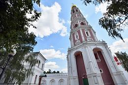 Press tour of the restored objects on the territory of the Moscow Mother of God-Smolensk Novodevichy Stavropegic Convent.