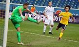 Tinkoff RPL, season 2021/22. Second round. Zenit (St. Petersburg) vs Rostov (Rostov-on-Don) at the Rostov-Arena stadium.