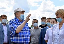 Leader of the Liberal Democratic Party of Russia (LDPR) Vladimir Zhirinovsky will visit the city of Odintsovo as part of a series of pre-election trips.