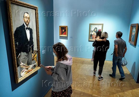 Igor Grabar. On the 150th Anniversary of His Birth exhibition in the Benois Wing of the Russian Museum.