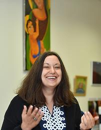 Olga Germanenko, head of the SMA Families Foundation.