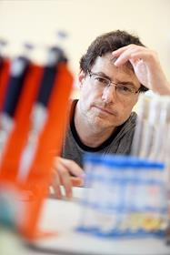 Eugene Nudler, professor at the Department of Biochemistry and Molecular Pharmacology, University of New York School of Medicine, during an interview.