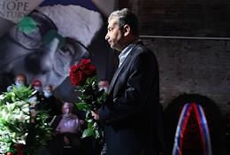 Farewell ceremony for the former chairman of the Memorial human rights center, the former president of the Human Rights Institute, Sergei Kovalev, at the Sakharov Center.