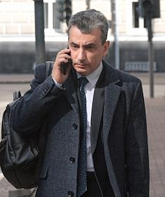 Court hearing of the case involving Lev Shlosberg, leader of the Pskov branch of Yabloko, in the Supreme Court of Russia. The situation at the courthouse.