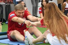 Bosco Friends Open charity tennis tournament in Luzhniki.