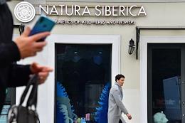 Natura Siberica store on Pyatnitskaya street.