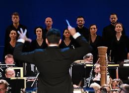 Opening of the 31st season at the Kolobov Moscow Novaya Opera theater.