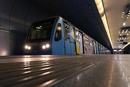 Genre photographs. Kazan Metro.