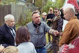 Shooting a new musical film by Garik Sukachev - 'Sing, the wind' in the Tver region.