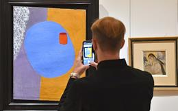 Press preview of the Sotheby's exhibition at the IN ARTIBUS foundation.
