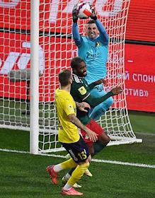 Russian Premier League (RPL). Tinkoff - Russian Football Championship 2021/2022. 10th round. A match between the teams Lokomotiv (Moscow) - Rostov (Rostov-on-Don) at the Russian Railways Arena (Lokomotiv).