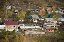 Views of the Krasnoyarsk Territory, Krasnoyarsk. Genre shooting.