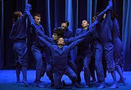 DanceInversion Festival. Performance 'Vivaldiana' at Helikon-Opera.
