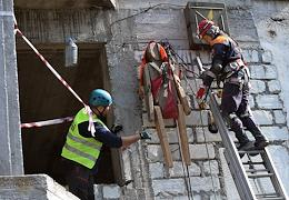 XVIII Championship in service and applied sport 'All-around rescuers of the EMERCOM of Russia' in Sevastopol.