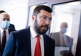 The new mayor of Kaliningrad, Evgeny Lyubivy.