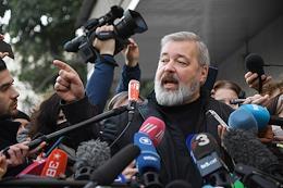 Dmitry Muratov, editor-in-chief of Novaya Gazeta, won the Nobel Peace Prize.