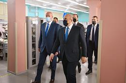 Working trip of Russian Prime Minister Mikhail Mishustin to Kursk.