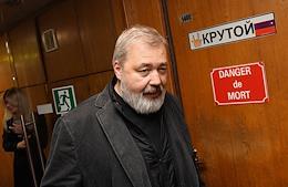 Nobel World Prize winner Dmitry Muratov, editor-in-chief of Novaya Gazeta, in the 'Minority Opinion' program of the Echo of Moscow radio station
